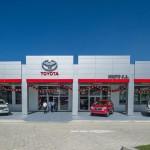 Inauguration du nouveau showroom de la Hinoto S.A. à Delmas